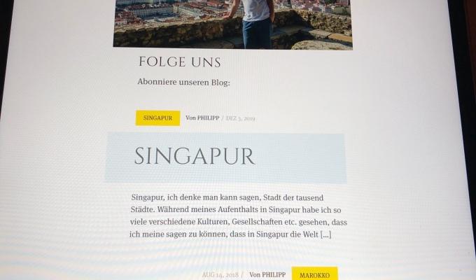2. Seite online:)